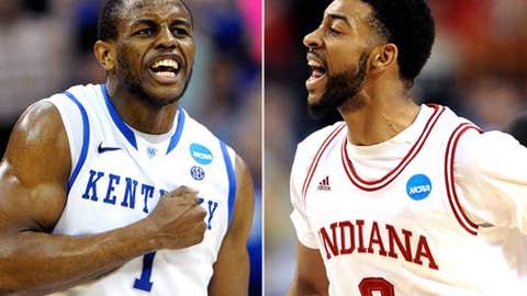 South: No. 1 Kentucky vs. No. 4 Indiana