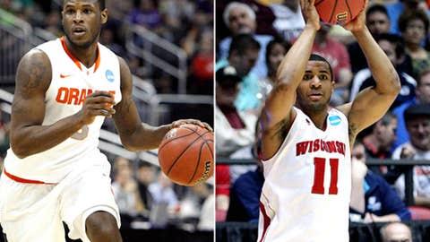 East: No. 1 Syracuse vs. No. 4 Wisconsin