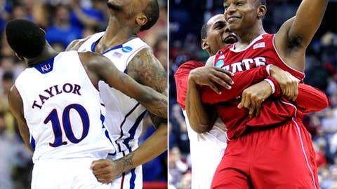 Midwest: No. 2 Kansas vs. No. 11 NC State