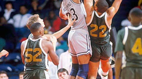 Alonzo Mourning, Georgetown