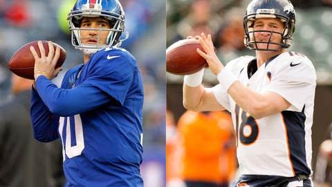 Eli Manning & Peyton Manning