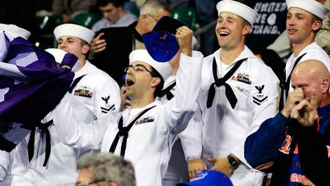 Happy sailors