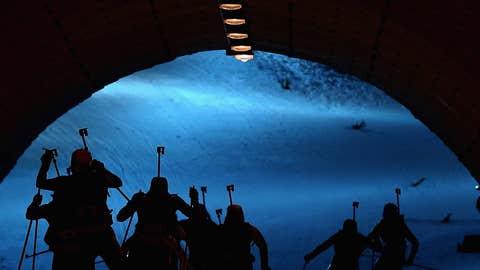 Shadow skiing