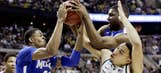 NCAA tournament action from Saturday