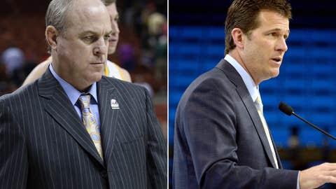 UCLA: Ben Howland (left) out; Steve Alford in