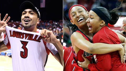 Will Louisville men and women both win titles?