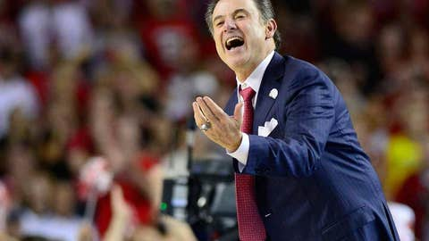 Will Pitino be Hall of Famer and champ on same day?