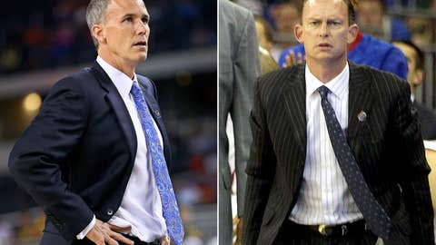 Florida Gulf Coast: Andy Enfield (left) out; Joe Dooley in