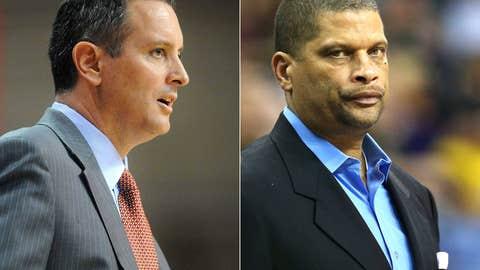 Rutgers: Mike Rice (left) out; Eddie Jordan in