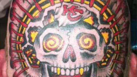 Chiefs fan Dalton Meek