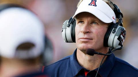 Arizona's offensive line
