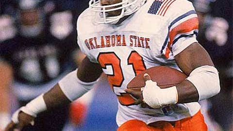 Barry Sanders was the first junior allowed in the draft