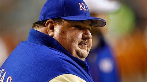 Kansas coach Mark Mangino