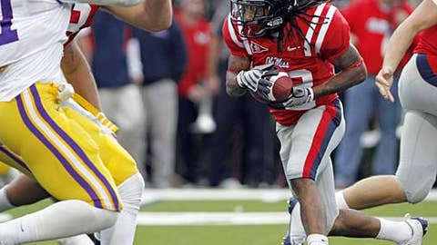 Mississippi running back Dexter McCluster