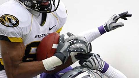 Missouri receiver Danario Alexander
