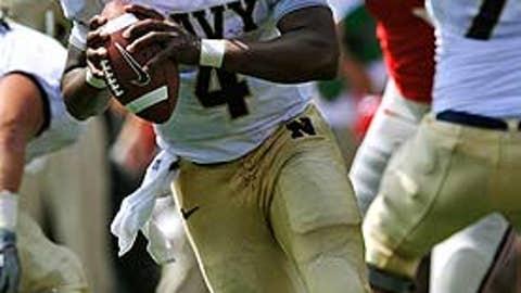 Navy over No. 19 Notre Dame