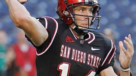 San Diego State QB Ryan Lindley