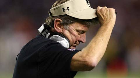 South Carolina down the stretch under Steve Spurrier