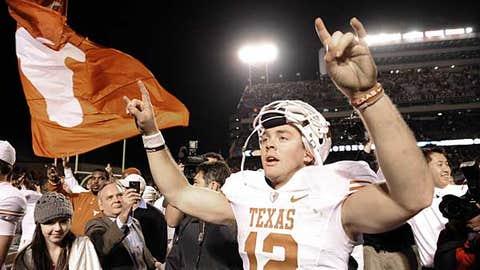 Texas QB Colt McCoy
