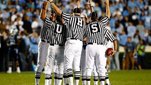 Time for the NCAA to throw a flag on officials