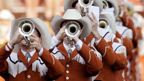 Hook 'em horns