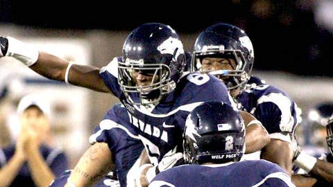 Nevada players celebrate