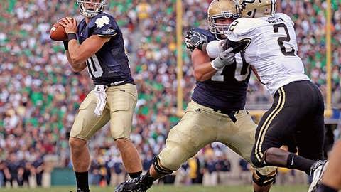 Notre Dame over No. 16 Stanford