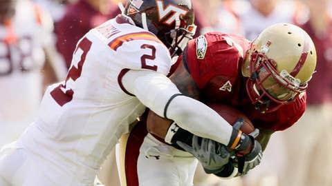 The Virginia Tech defense