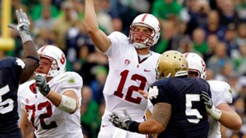 No. 9 Stanford over No. 4 Oregon