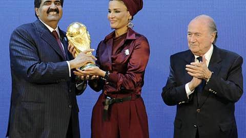 FIFA stiffs England, U.S. for World Cup