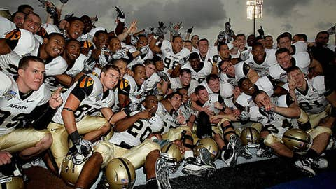 Army gets into a bowl ... and wins