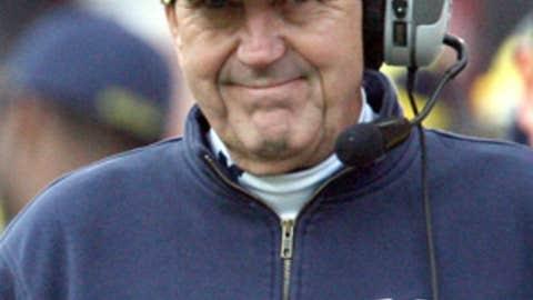Lloyd Carr, Michigan, coach, 1995-2007