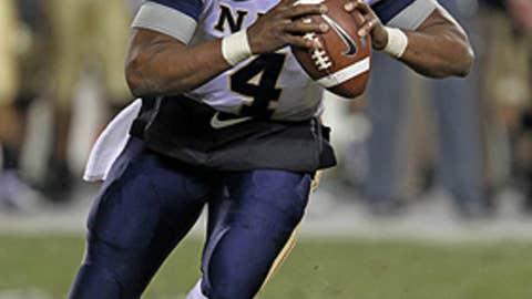 Ricky Dobbs, QB, Navy