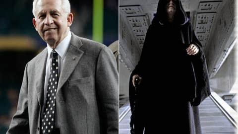 Villain: Mike Slive (SEC commish) as Emperor Palpatine