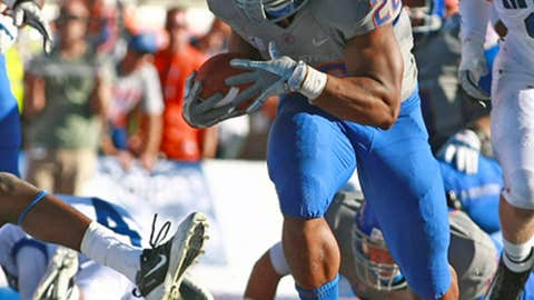 No. 5 Boise State at UNLV, Saturday, 10:30 p.m. ET