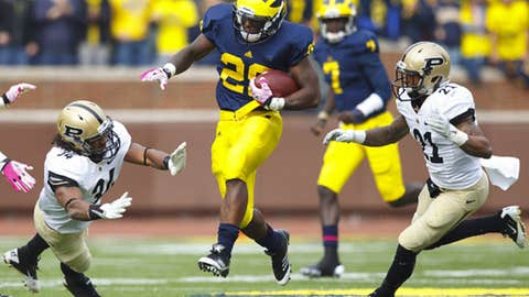 No. 15 Michigan at Iowa, Saturday, 12 p.m. ET