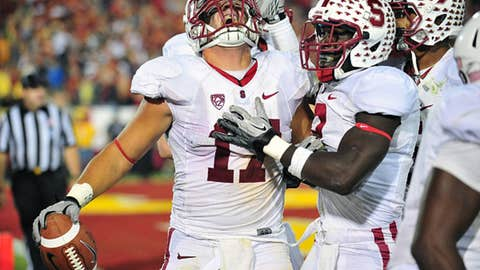 No. 4 Stanford at Oregon State, Saturday, 3:30 p.m. ET