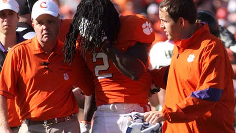 No. 7 Clemson at NC State, Saturday, 3:30 p.m. ET