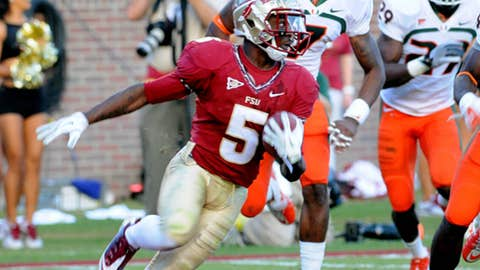 Virginia at No. 25 Florida State, Saturday, 7:30 p.m. ET