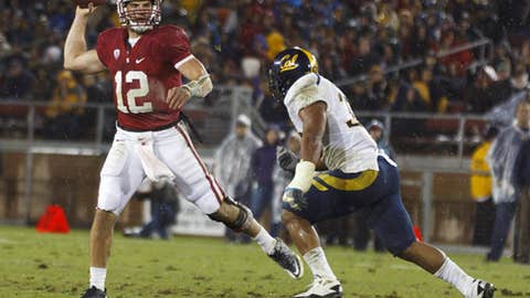 Andrew Luck, senior, QB, Stanford