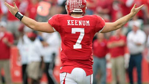 Case Keenum, senior, QB, Houston