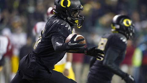 Oregon State at No. 10 Oregon, Saturday, 3:30 p.m. ET