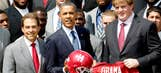 Obama meets with Alabama's national title team