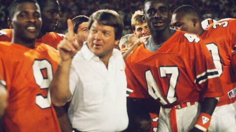 Jimmy Johnson, coach, Oklahoma State (1979-83) and Miami (1984-88)
