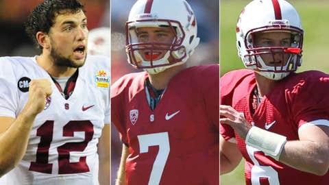 Stanford: Andrew Luck to Brett Nottingham or Josh Nunes