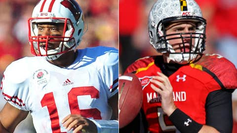 Wisconsin: Russell Wilson to Danny O'Brien