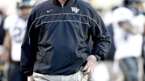 Jim Grobe, Wake Forest, 12th season (68-67)
