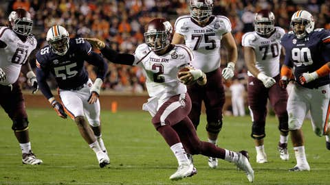 No. 16 Texas A&M at No. 15 Mississippi State, Saturday, 12 p.m. ET