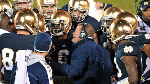 No. 4 Notre Dame at Boston College, Saturday, 8 p.m. ET