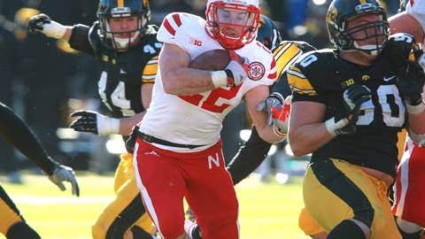 No. 12 Nebraska vs. Wisconsin (at Indianapolis), Saturday, 7:30 p.m. ET (on FOX)